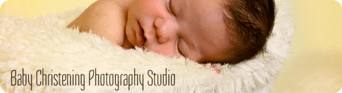 Baby Christening Photography Studio