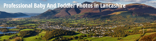 Professional Baby and Toddler Photos in Lancashire