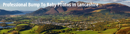 Professional Bump to Baby Photos in Lancashire